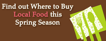 Where to buy Local Food this Spring Season