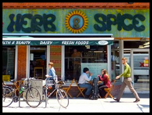 Herb and Spice on Bank